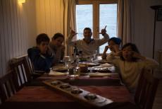 Jantar na Estância Doraike