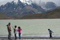 Lago em Torres del Paine