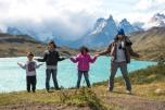 Lagoa em Torres del Paine