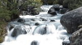 Cascata a caminho da geleira - El Chalten
