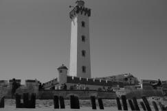 Farol, Praia La Serena, Chile