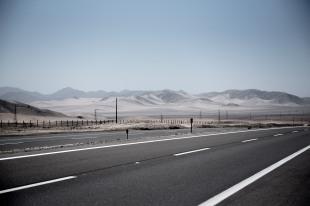 Estrada para Antofagasta, Chile