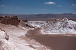 Vista de cima da montanha - Vale da Lua