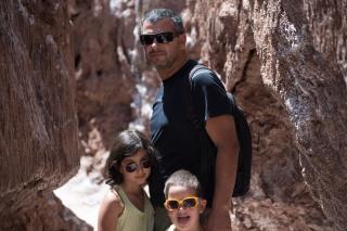 Milton, Sofia e Caio
