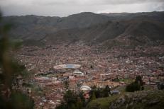 Vista da cidade de Cusco