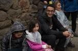 Oliver com as crianças no Vale Sagrado