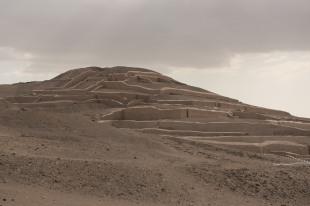 Pirâmide em Cahuachi