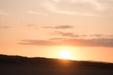 Pôr do Sol depois do passeio