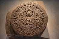 Calendário Azteca - Museu de Antopologoa