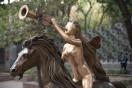 Lady Godiva - Salvador Dali - Mostra temporária - Passeio de La Reforma