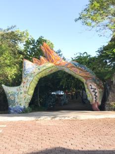 Jardim de cerâmica - Porto Ayora