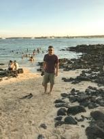 Praia da estação Darwin