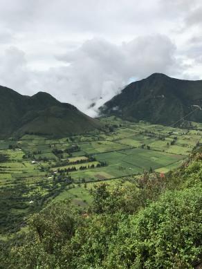 Cratera vulcão Puluahua - Quito