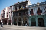 Fachadas do centro de Havana