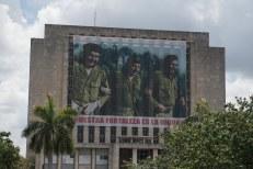 Fotos no entorno da Praça da Revolução