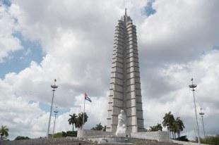 Praça da Revolução em Havana