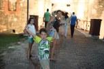 """Entrando no Forte para assistir ao espetáculo do 'Canhonaço"""""""
