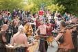 Apresentação de música folclórica