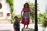 Sofia em Caio na praça