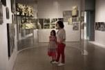 Na exposição fotográfica