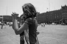 Dançando em Zócalo