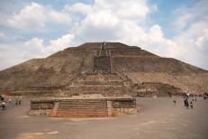 Pirâmide do Sol - Teotihuacan