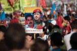 Festa do 1o de maio na Praça de Revolução