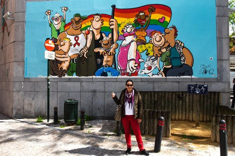 Parada Gay em Bruxelas
