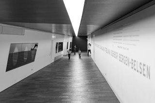 Arquitetura interna do Museu Judeu