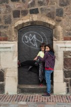 Uma porta histórica em Berlim