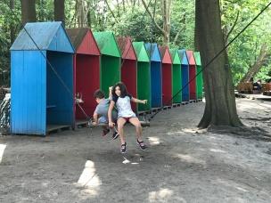 Biergarten no parque