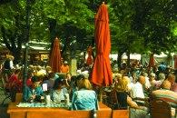 Ruas de Munique no verão
