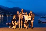 As 2 famílias em Locarno - Suíça Italiana