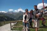 Zermatt com Matterhorn ao fundo