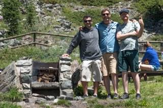 Zermatt - Milton, Paulo e Daniel