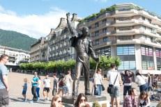 Estátua do Fred Mercury em Montreux