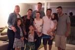 Jantar na casa do Elton e Elisane com nossos amigos Paulo e Débora