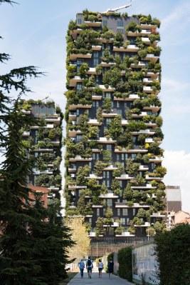 Jardim vertical em Milão