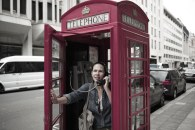 Cabine telefonica clássica londrina