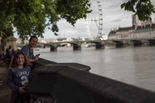 Região Westminster/London Eye