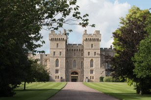Uma visão do complexo do castelo de Windsor