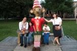 Eu, Sofia, Pinóquio, Caio e Eleonora