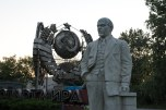 Uma das muitas estátua de Lenin