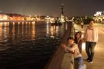 Vista do Rio Moscova no parque