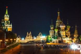 Kremlin a noite