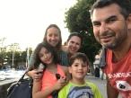 Nós com a Lu em Lausanne