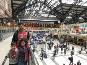 Estação Liverpool - onde reencontramos nosso equipamento