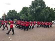 Troca da guarda no Palácio de Buckingham
