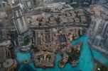 Do alto do Burj Khalifa