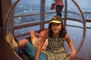 Do alto do Burj Khalifa